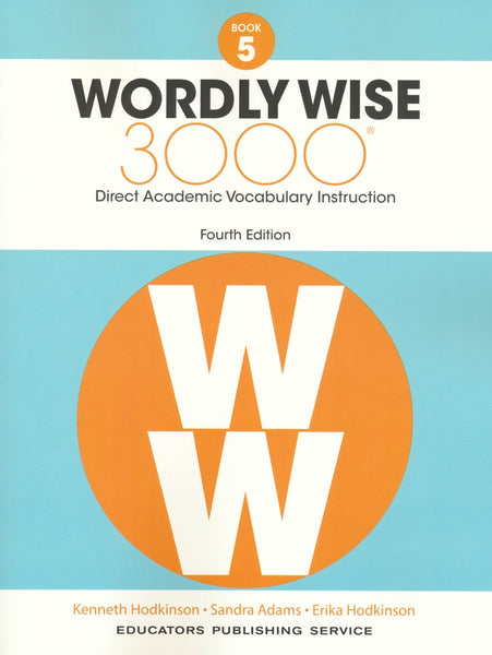 Wordly Wise 3000 Book 5 Student Book and Answer Key Set (4th Edition)