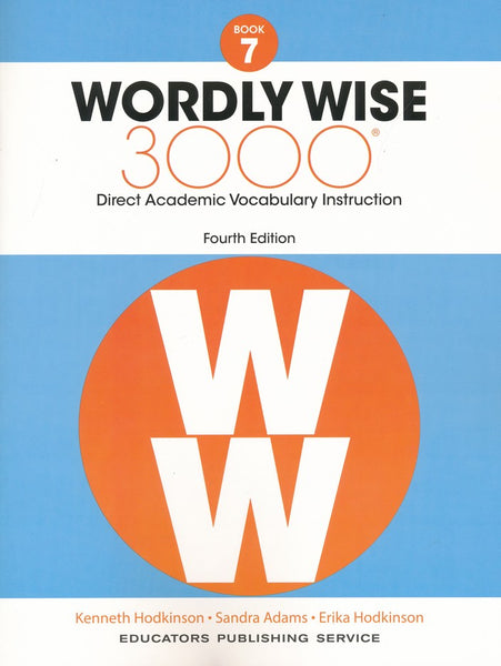 Wordly Wise 3000 Book 7 Student Book and Answer Key Set (4th Edition)