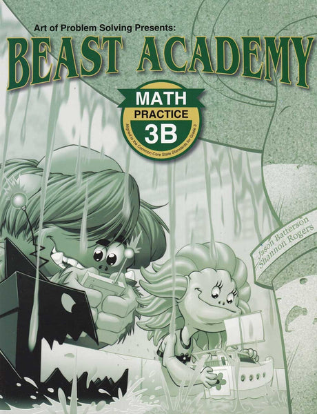 Beast Academy Guide and Practice Books 3B
