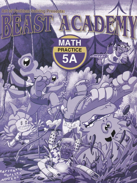 Beast Academy Guide and Practice Books 5A