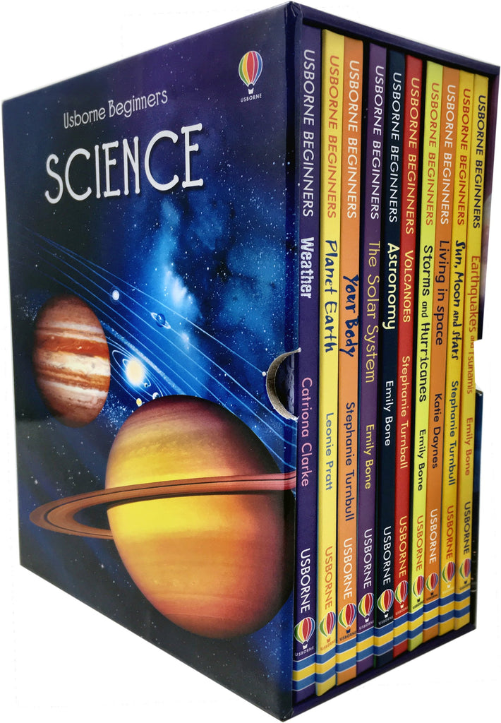 Usborne Beginners Science Box Set (10 Book Set)