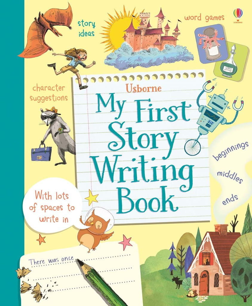 Usborne My First Story Writing Book