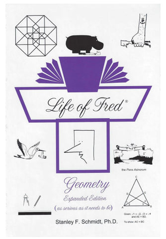 Life of Fred High School Math Set 2 (2 books)