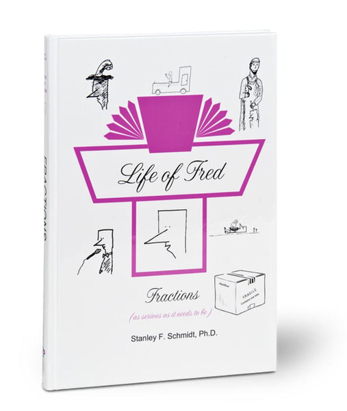Life of Fred Middle School Guide book Set