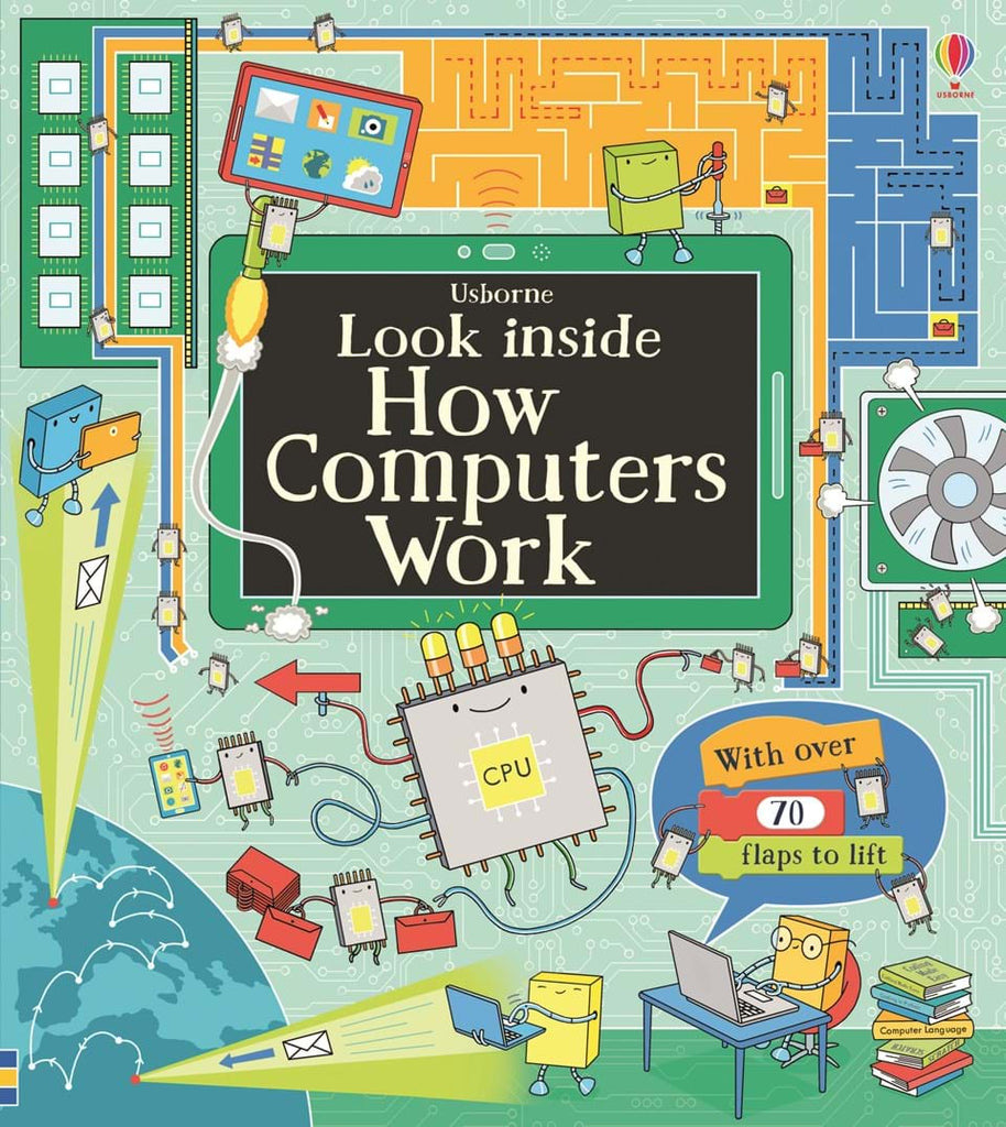 Usborne Look Inside How Computers Work
