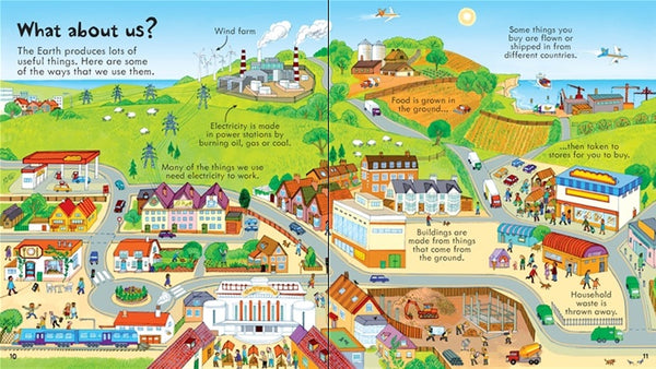 Usborne Look Inside Our World