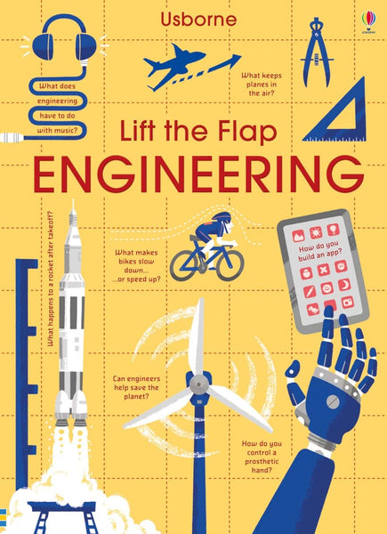 Usborne Lift-the-flap Engineering Board Book IR