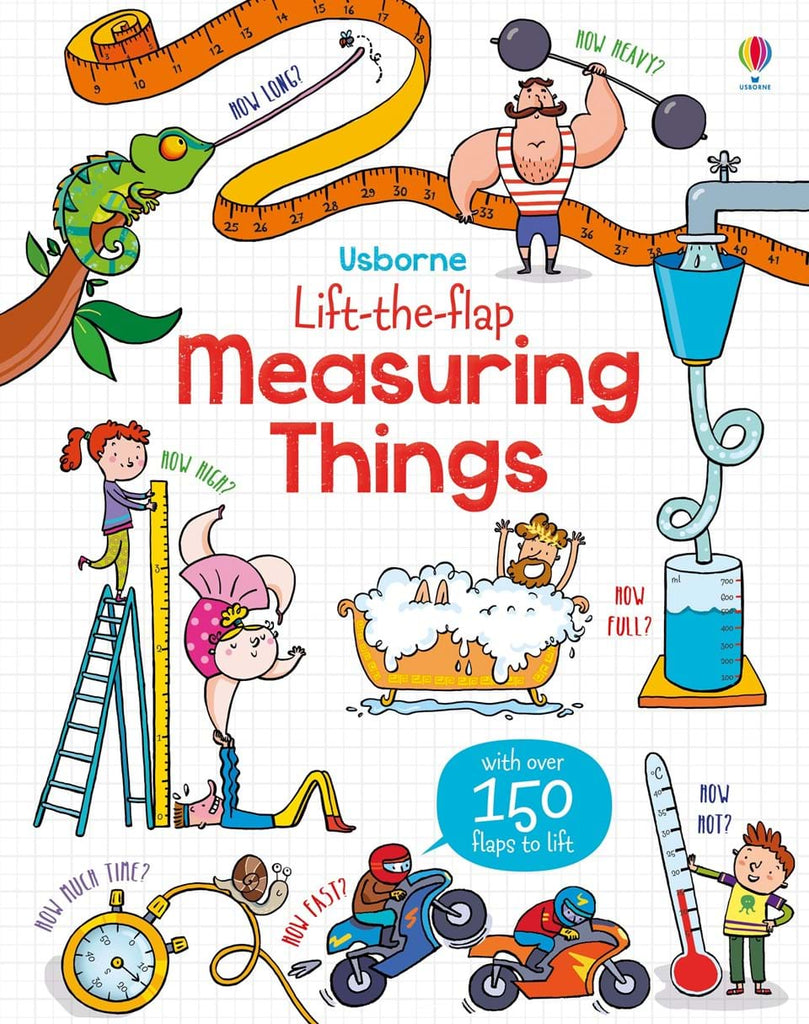 Usborne Lift-the-flap Measuring Things Board Book