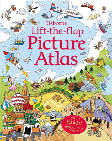 Usborne Lift-the-flap Picture Atlas