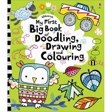 Usborne My First Big Book of Doodling, Drawing, and Coloring