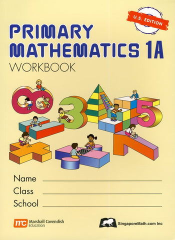 Singapore Math: Primary Math Workbook 1A US Edition