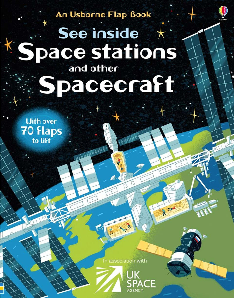 Usborne See Inside Space Stations and Other Spacecraft