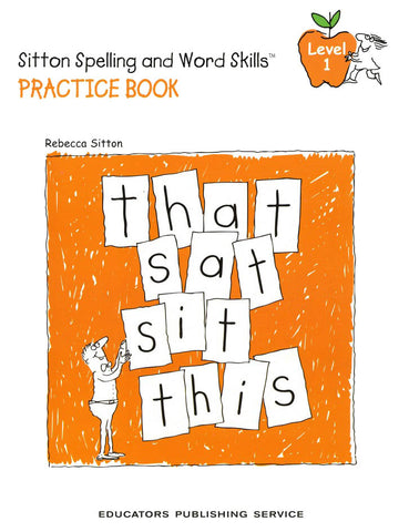Sitton Spelling and Word Skills Practice Book 1 and Answer Key Set