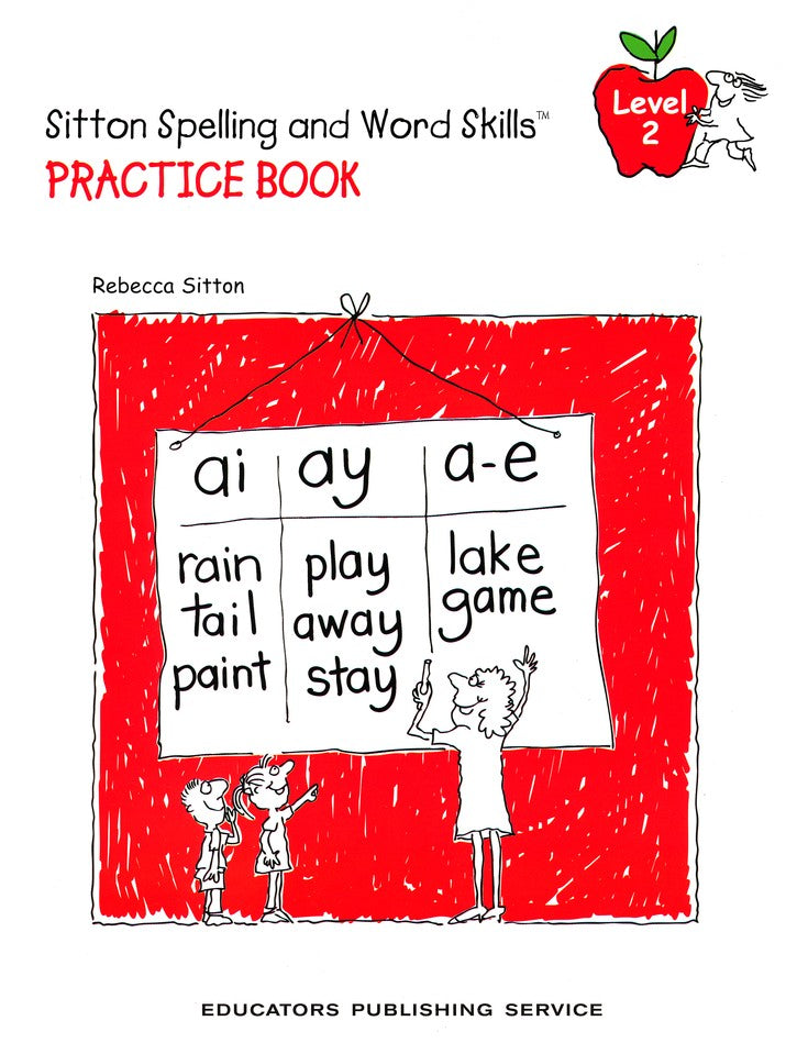 Sitton Spelling and Word Skills Practice Book 2 and Answer Key Set