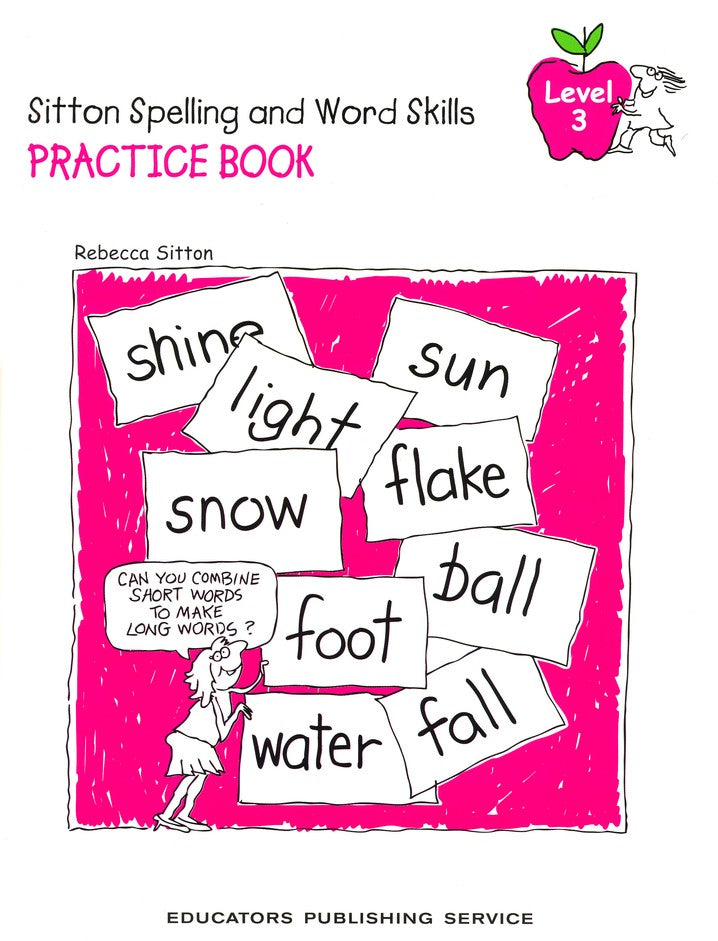 Sitton Spelling and Word Skills Practice Book 3 and Answer Key Set