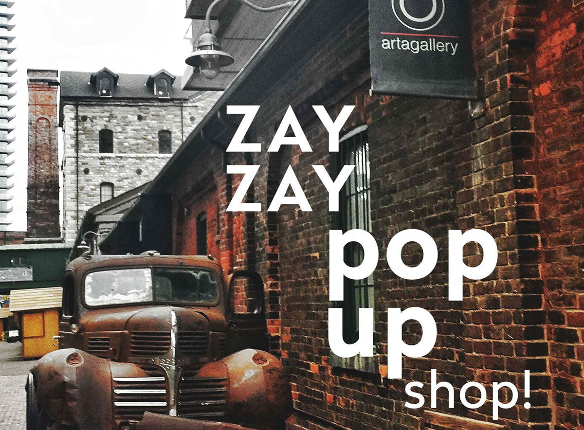 ZayZay Pop Up Shop is coming to the DISTILLERY DISTRICT!