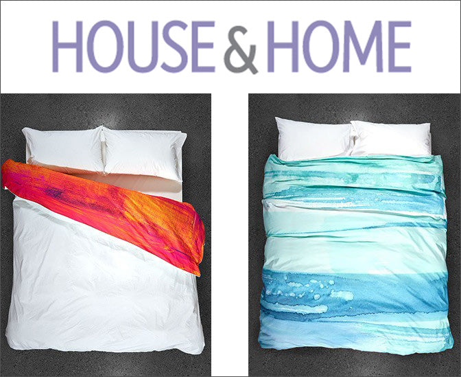 Featured ZayZay duvet covers on House&Home