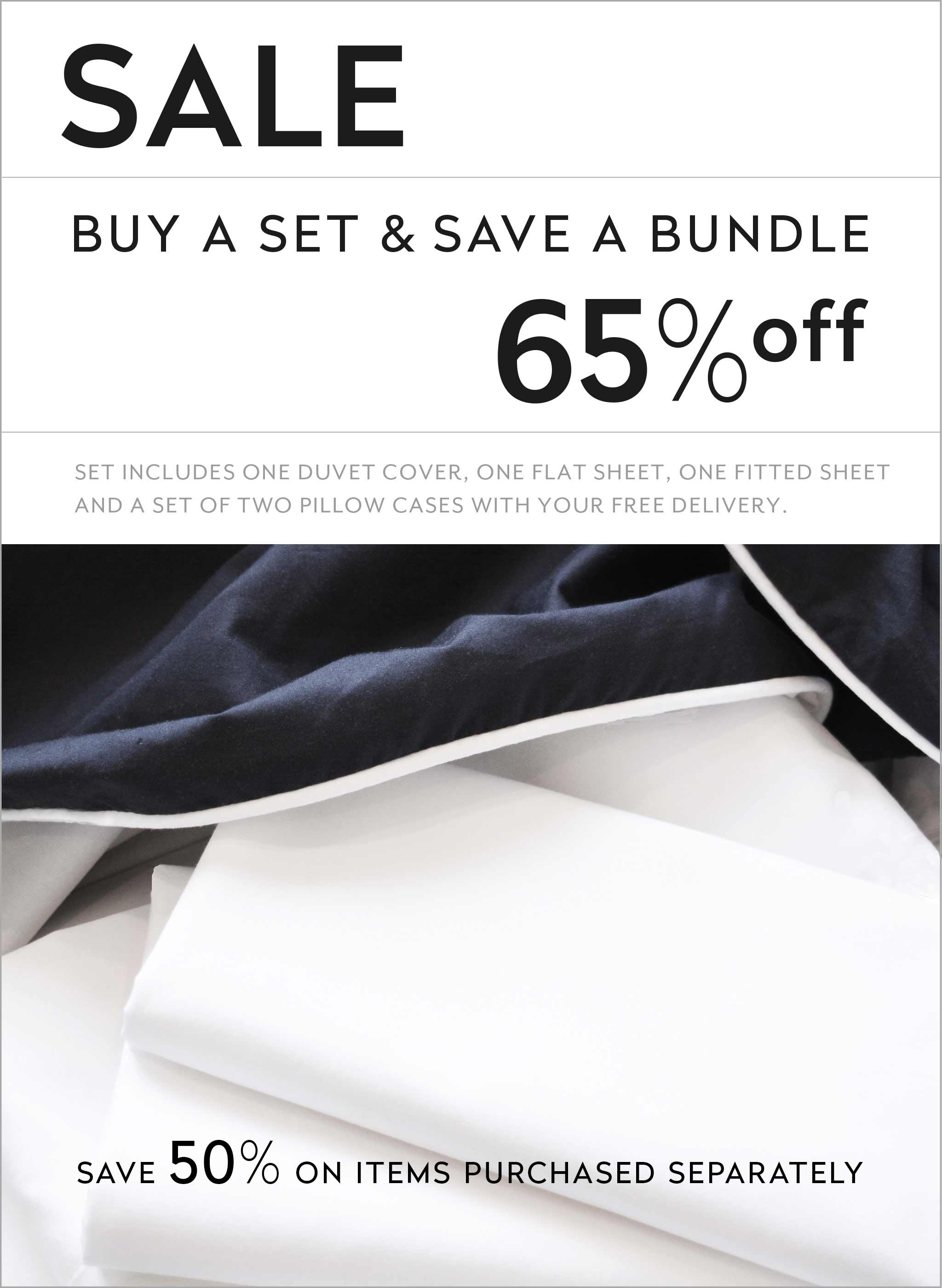 ZayZay luxury linen set SALE save 65 percent Penguin Love duvet cover sheets pillowcase