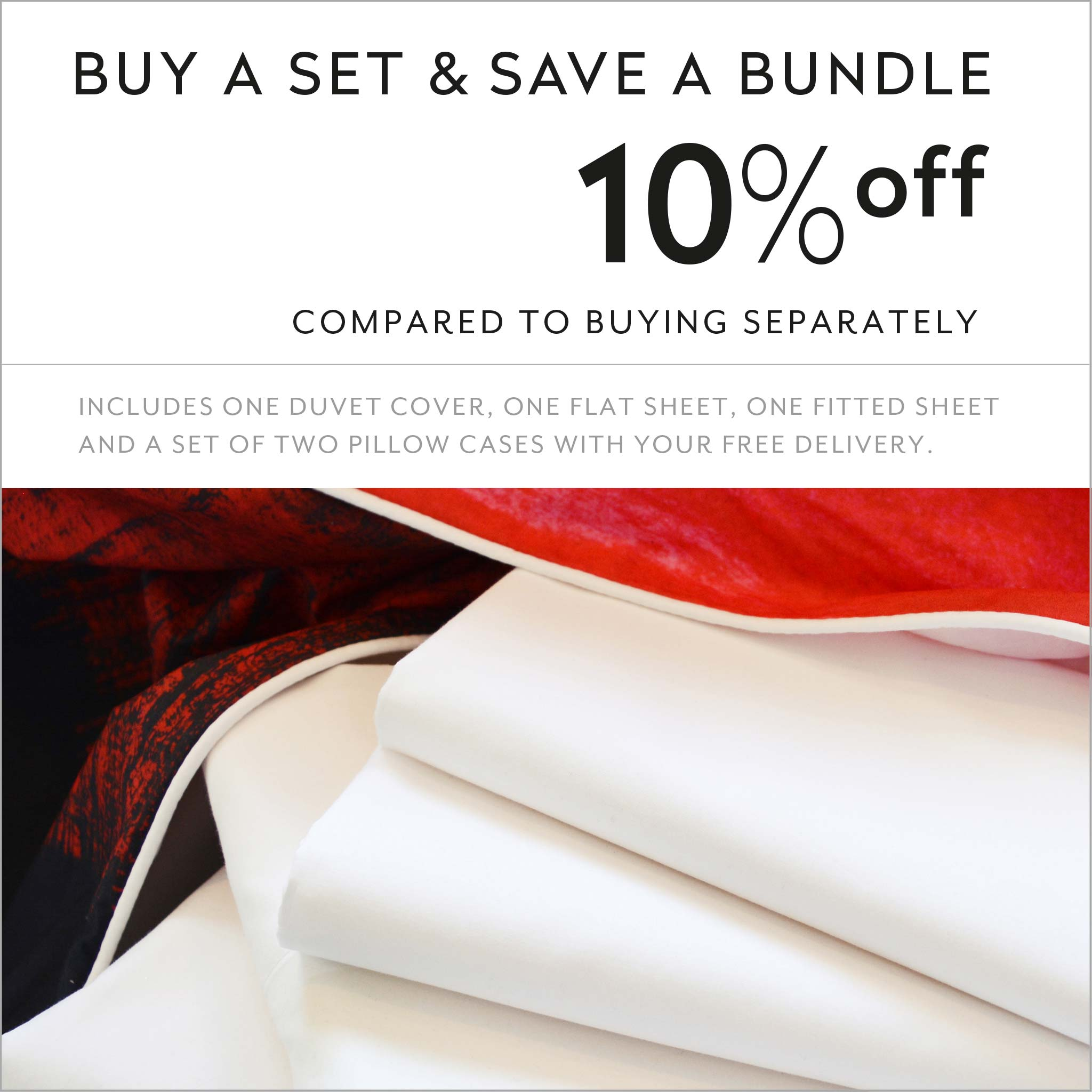 ZayZay luxury linen set save 10 percent La Sevillana duvet cover sheets pillowcase
