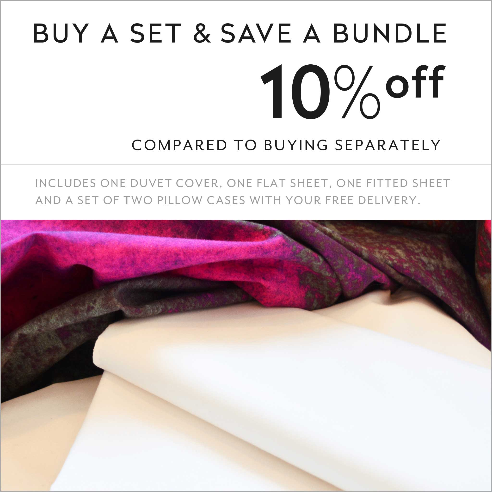 ZayZay luxury linen set save 10 percent Release of the Unconscious duvet cover sheets pillowcase