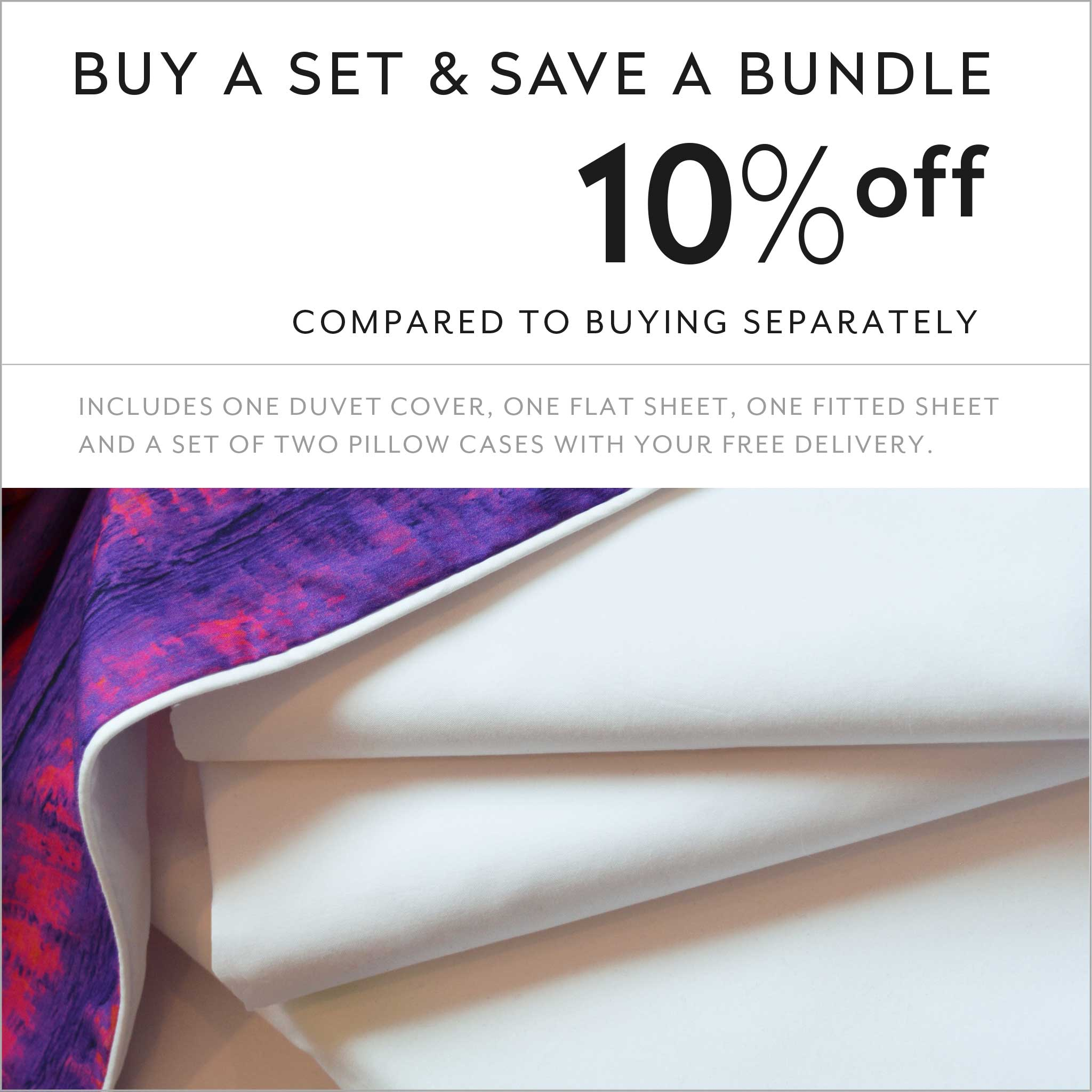 ZayZay luxury linen set save 10 percent Saffron Shangrilahh duvet cover sheets pillowcase