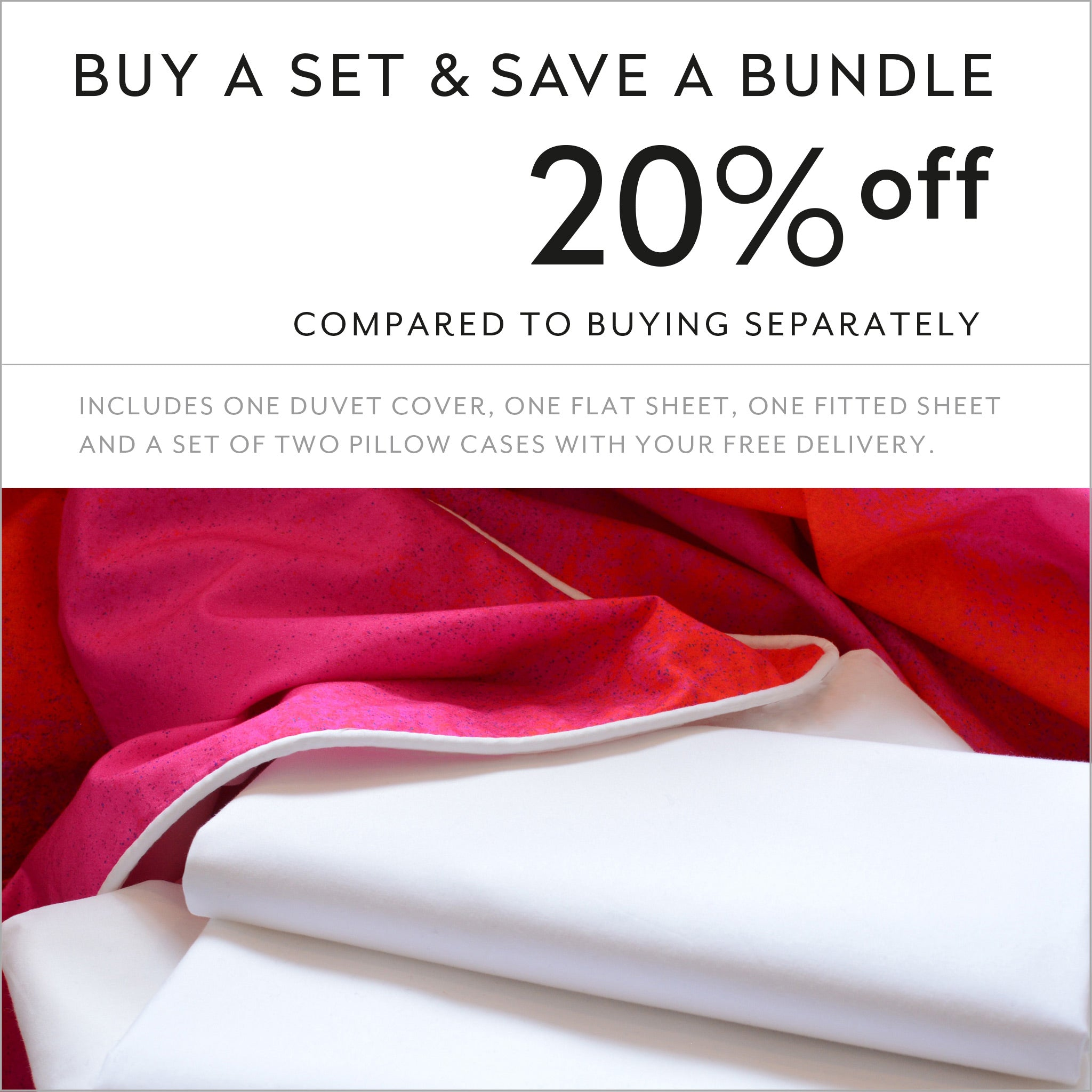 Buy a set and save 20% compared to buying separately cotton sheets and duvet cover design Apsara Dance