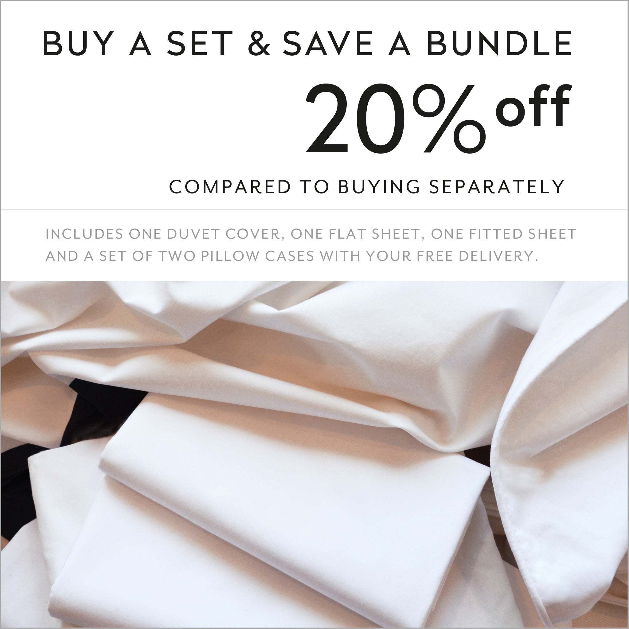 Buy a set and save 20% compared to buying separately cotton sheets and duvet cover design Easy to Love