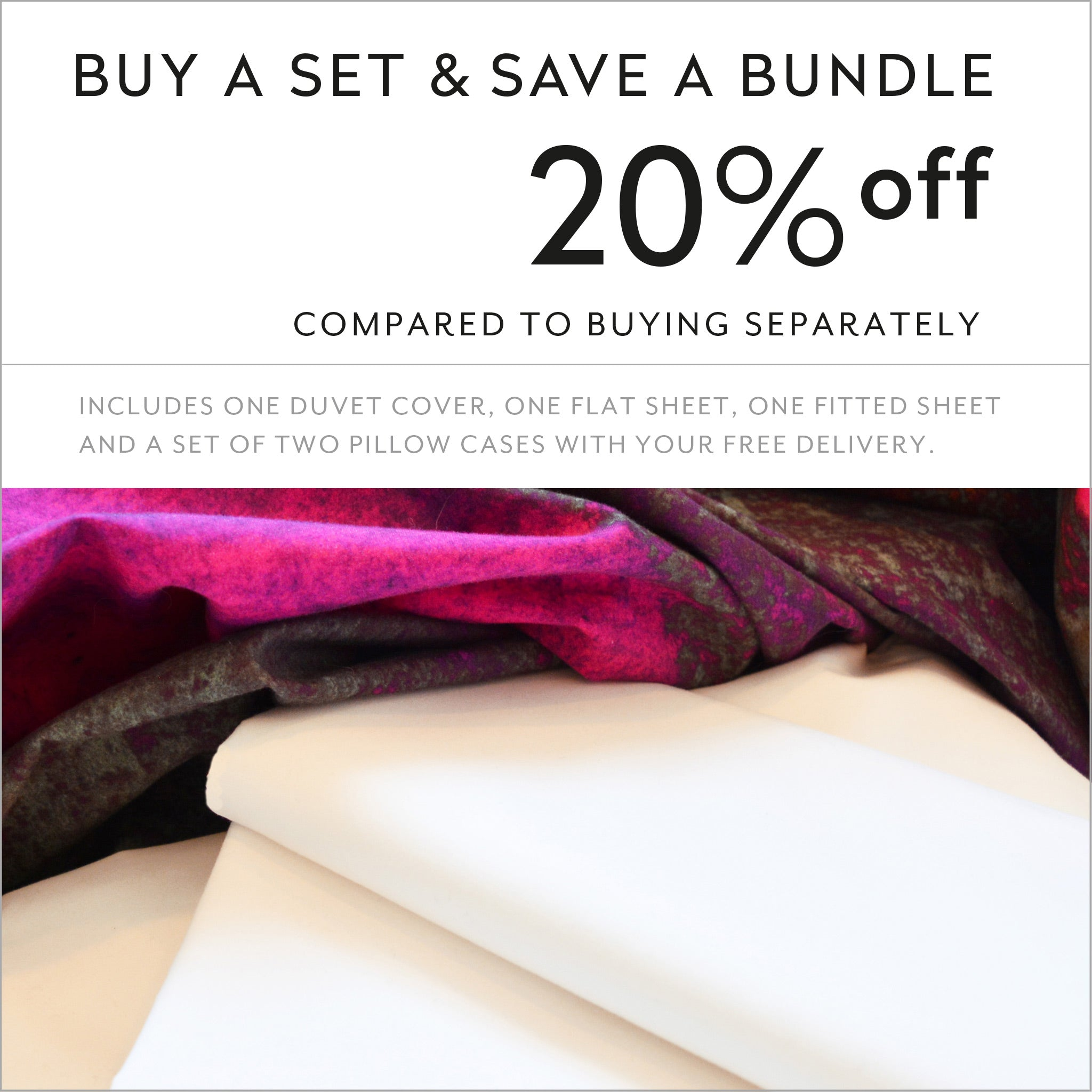 ZayZay luxury linen set save 20 percent off Release Unconscious designer duvet cover sheets pillowcase