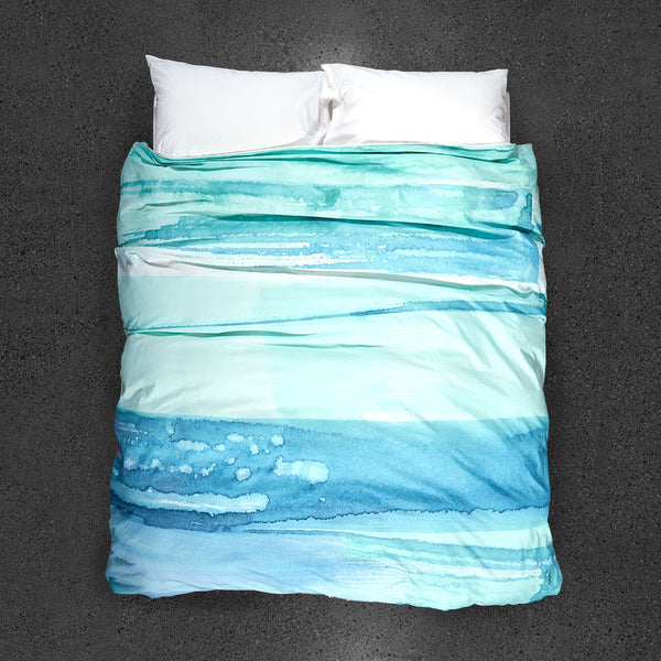 Paradisus Duvet Cover - Top View