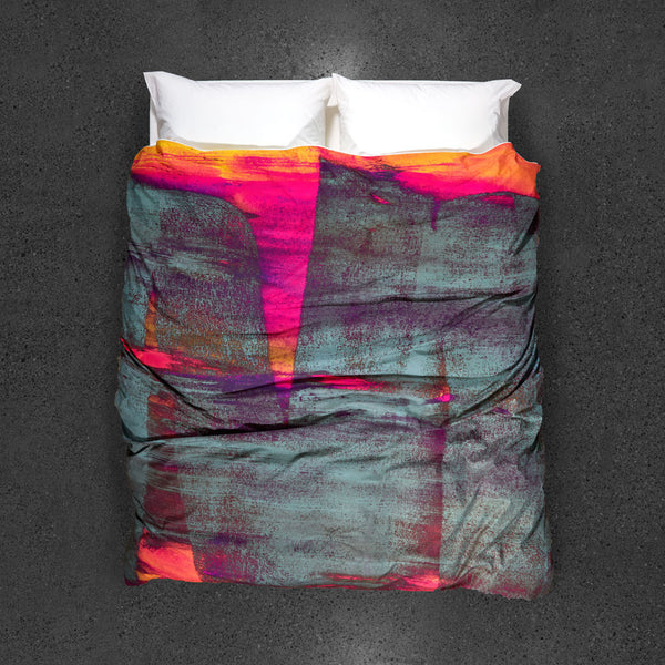 Release of the Unconscious Duvet Cover - Top View