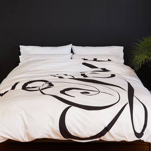 Love Song Duvet Cover - Room View