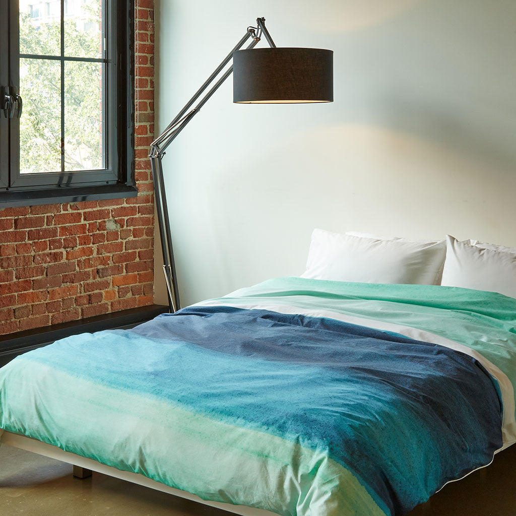 Blueberry Bisque Duvet Cover - Room View