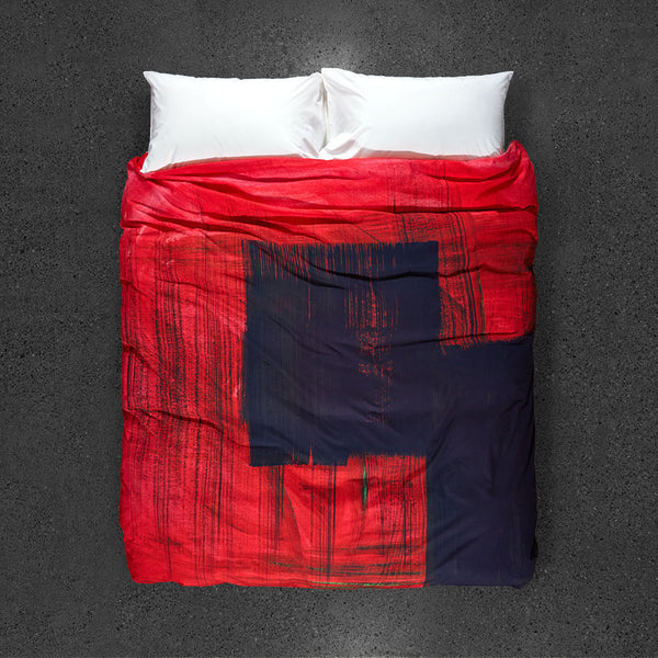 La Sevillana, Rebecca's Passion Duvet Cover - Top View