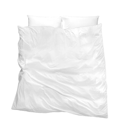 Untouched Snow Duvet Cover - 100% Egyptian cotton