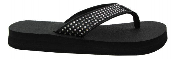 Black Yoga Mat Flip Flops By Share The Love Today  Sharethelovetoday-3710