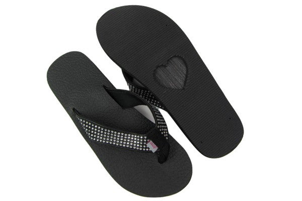 Black Yoga Mat Flip Flops By Share The Love Today  Sharethelovetoday-6782