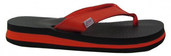 Amor Red Yoga Mat Flip Flops for Women - Leave An Impression