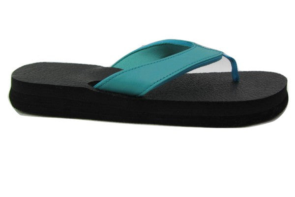 Teal Yoga Mat Flip Flops By Share The Love Today  Sharethelovetoday-9774
