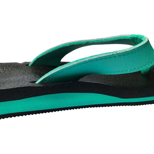 Foot Huggers Yoga Mat Flip Flops for Women - Leave An Impression