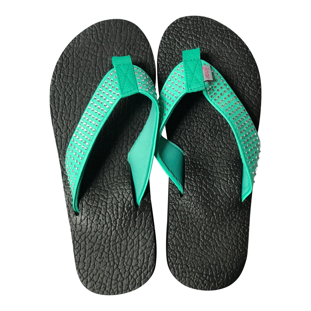 Black Yoga Mat Flip Flops By Share The Love Today -5929