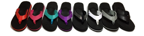 """Original"" Amor Yoga Mat Flip Flops for Women - Leave An Impression"