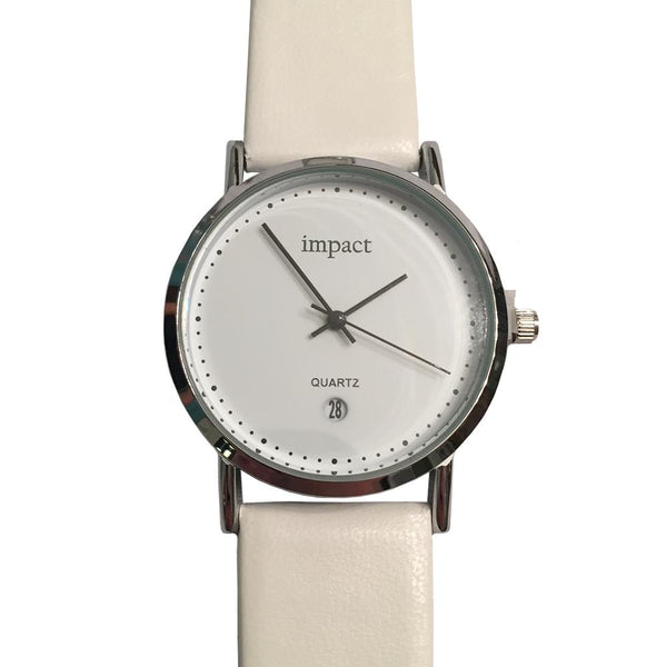Women's Classic Leather Watch - By Impact Time Pieces