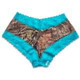 Blue and Camo lace panty