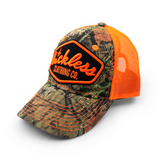 Orange Realtree Luckless Snapback Hat