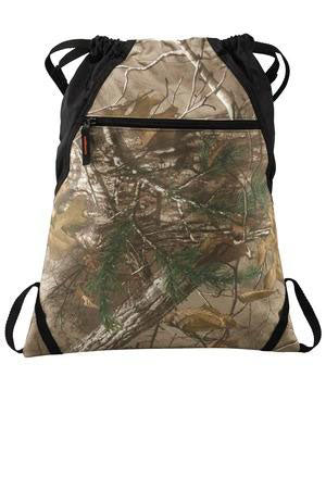 NE Realtree Drawstring Bag