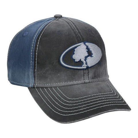 MOSSY OAK® Black & Navy Hat - Luckless Outfitters - Country - Apparel - Music - Clothing - Redneck - Girl - Women - www.lucklessclothing.com - Matt - Ford Parody - Concert - She Wants the D - Lets Get Dirty - Mud Run - Mudding -