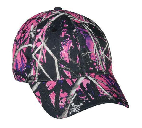 Muddy Girl Camo Hat - Luckless Outfitters - Country - Apparel - Music - Clothing - Redneck - Girl - Women - www.lucklessclothing.com - Matt - Ford Parody - Concert - She Wants the D - Lets Get Dirty - Mud Run - Mudding -