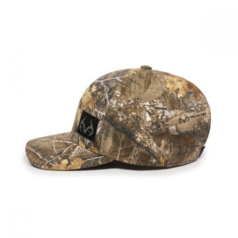 OC Realtree Edge Black Suede Patch Hat