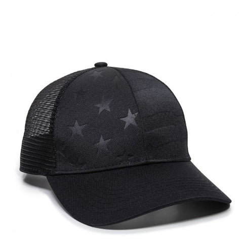 OC Debossed Stars and Stripes Hat