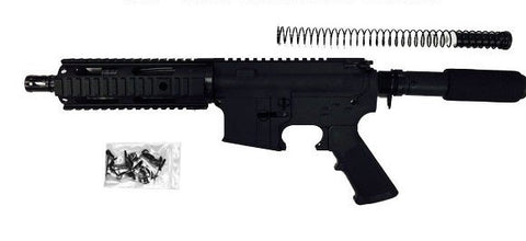 "AR15 300 Blackout Pistol Kit 7.5"" Barrel and 7"" Rail Complete with 80% Lower Receiver/Tactical Equipment Armory"
